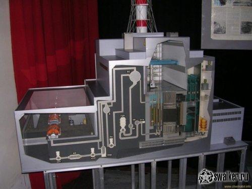 макет чернобыльской аэс чертеж картинка один самых знаменитых