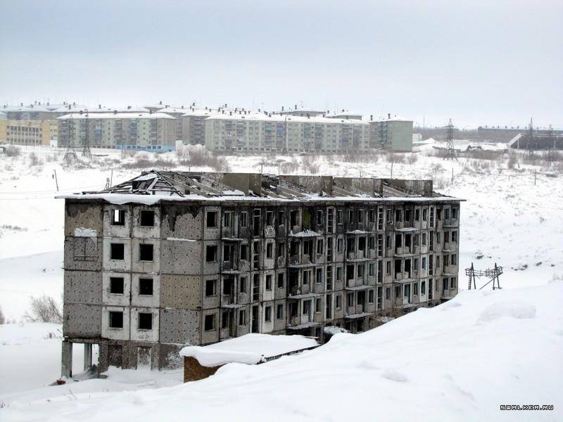 этих фото воркутинских поселков случилась такая ситуация