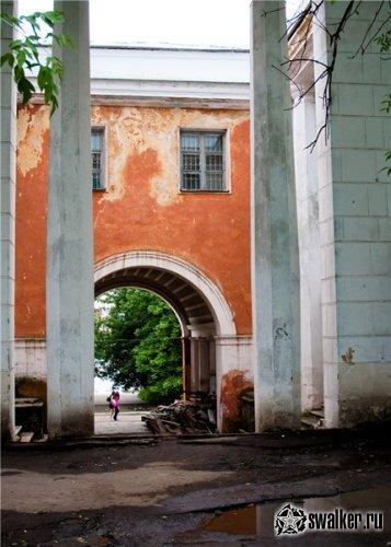 Плачевное состояние речного вокзала, Тверская область.