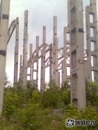 Заброшенный кирпичный завод, Россия