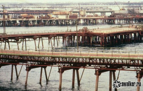 Нефтяные камни, Азербайджан (Версия 2)