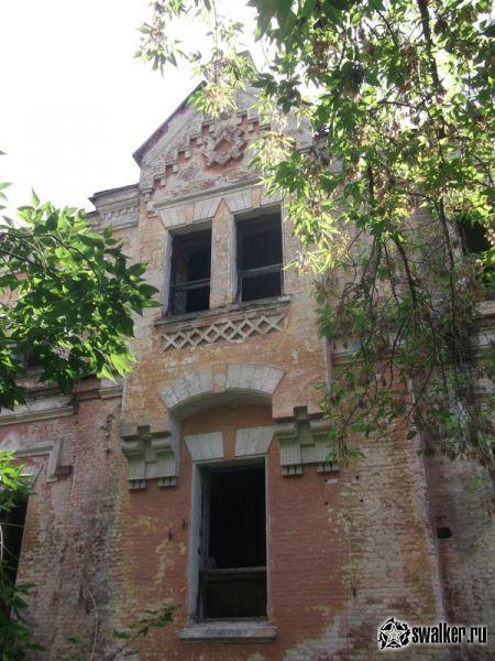Заброшенная усадьба Максимилиана фон Мекка. Тульская область.