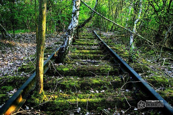 Заброшенные железные дороги
