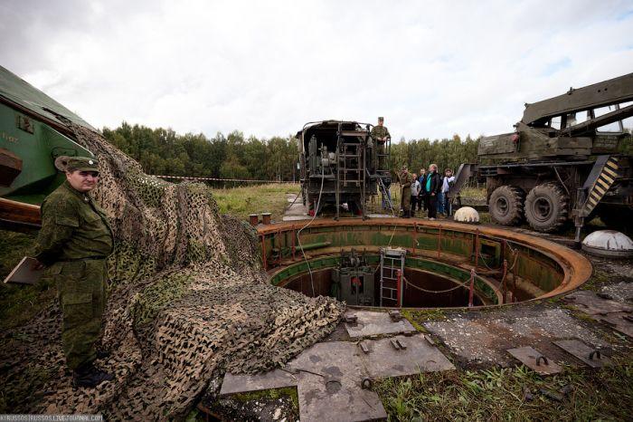 Шахтная пусковая установка УР-100Н УТТХ