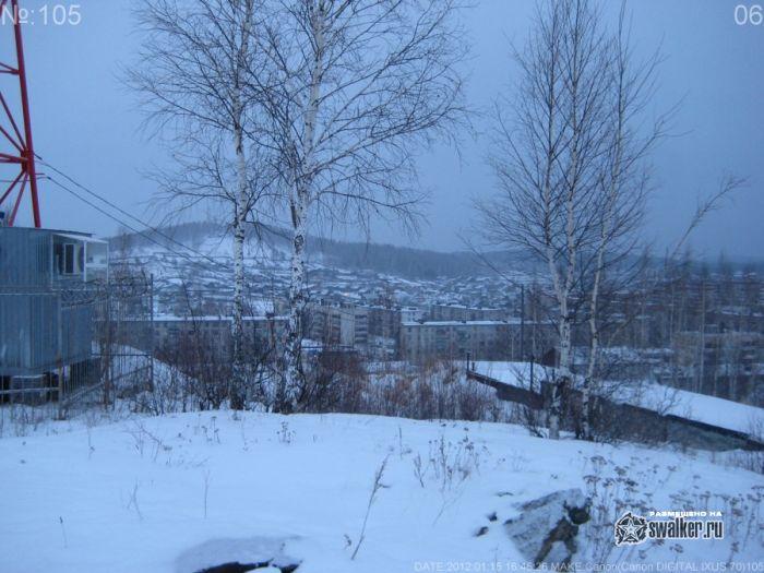 Гора в В.Нейвинске