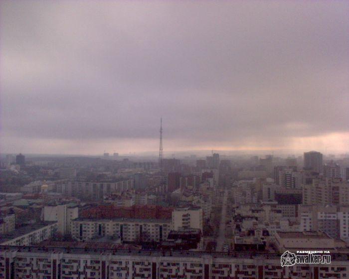 Вид с Антея. Екатеринбург
