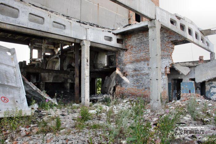 Заброшенный кирпичный завод, Свердловская область.